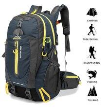 40l saco de acampamento ao ar livre escalada mochila saco tático à prova dwaterproof água para caminhadas escalada trekking caça das mulheres dos homens sacos de desporto