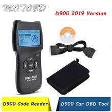 الأحدث V2019 OBD2 الماسح D900 واجهة تشخيص السيارات السيارات قراءة محرك السيارة لايف داتا D900 CAN-BUS مسح برو الأكثر مبيعاً