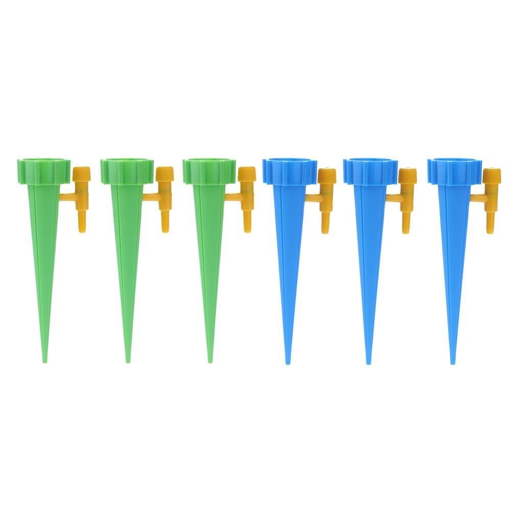 1-30 шт./компл. автоматического полива Спайк зеленый капельного полива и орошения Системы автоматического полива Спайк для цветочных растений в помещении инструмент для полива - Цвет: 6pcs