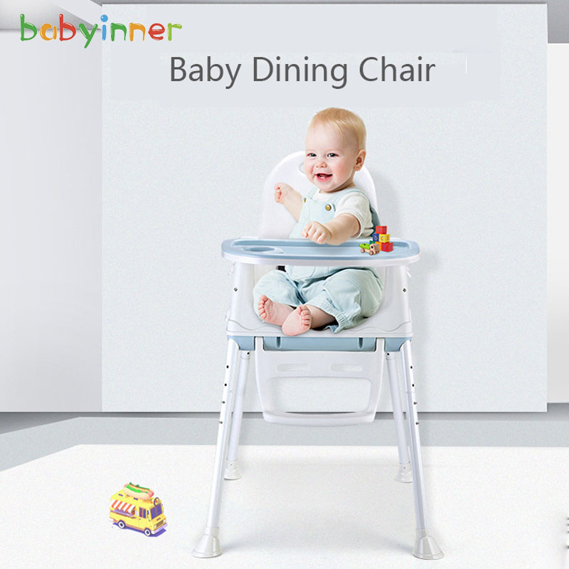 Baby Inner Multi-function Baby Dining Chair Foldable Portable Baby Chair Eating Seat > 6 Months Folding High Chair