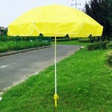 Регулируемый солнцезащитный пляжный рыболовный стенд, дождевик, садовый патио зонтик, наземный якорь, шип, зонтик, растягивающийся держатель