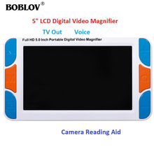 Digital Magnifier Eyoyo Reading-Aid Lupa Electronic Portable LCD Video with HDMI 1080/I60/Av-output