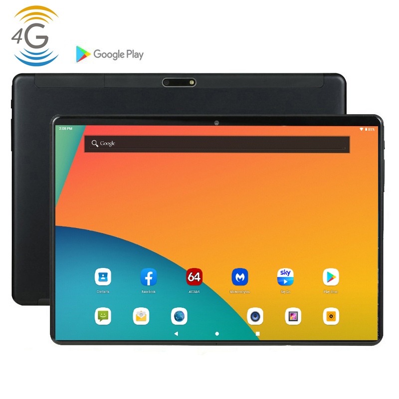 NEW 2020 CARBAYTA 4G LTE MID PC Global Bluetooth Wifi Phablet Android 9.0 10 Inch Tablet MTK Core Dual SIM Card 2.5D Tablet PC