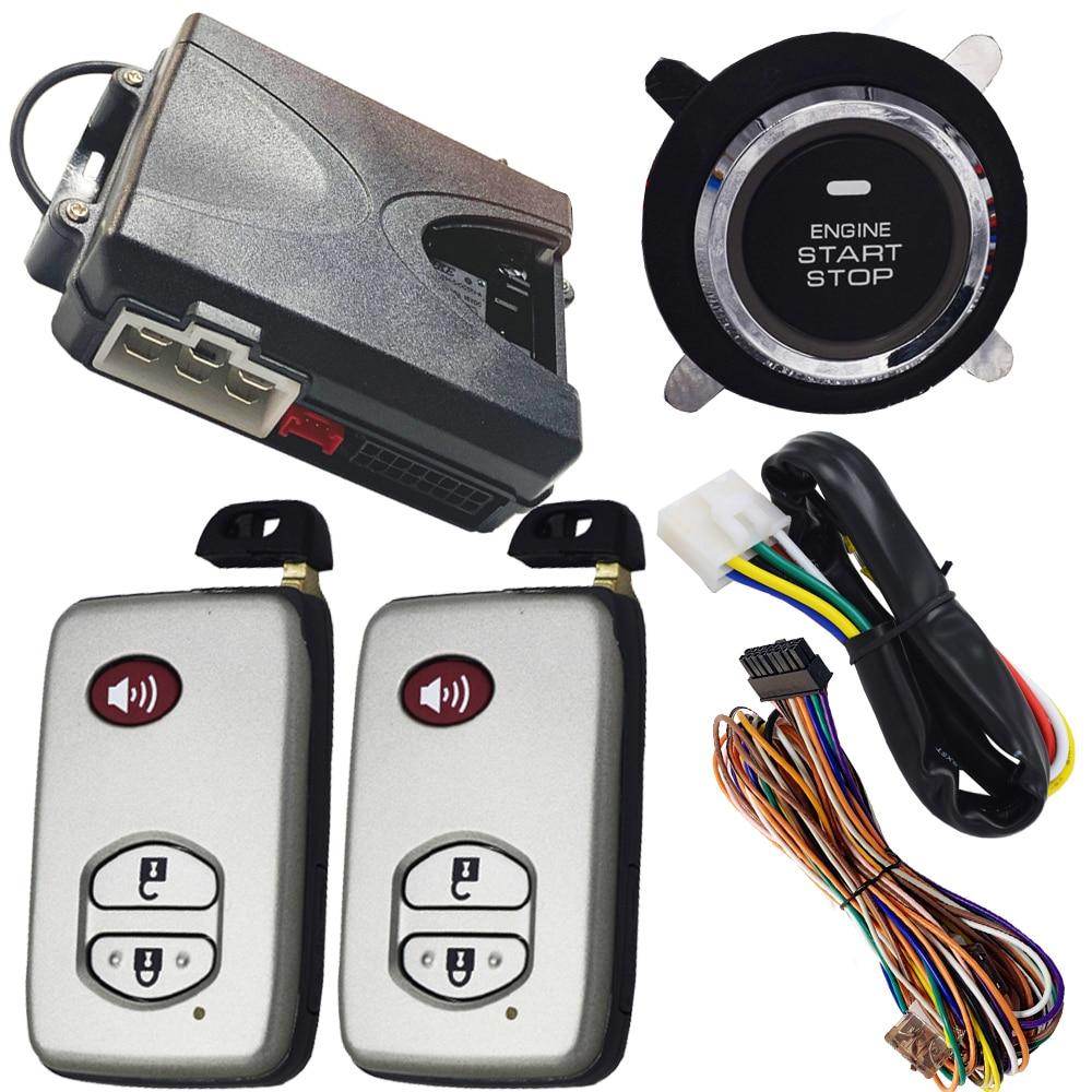 cardot smart keyless entry system push engine ignition start stop car alarm