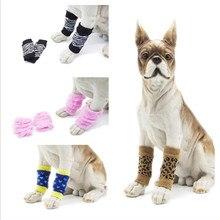 Pet anti-brudne legginsy Knee Dog booties skarpetki Teddy noga skarpety nie brudzi Ochrona psa rodilleras perros pokrywa ochraniacz na palce
