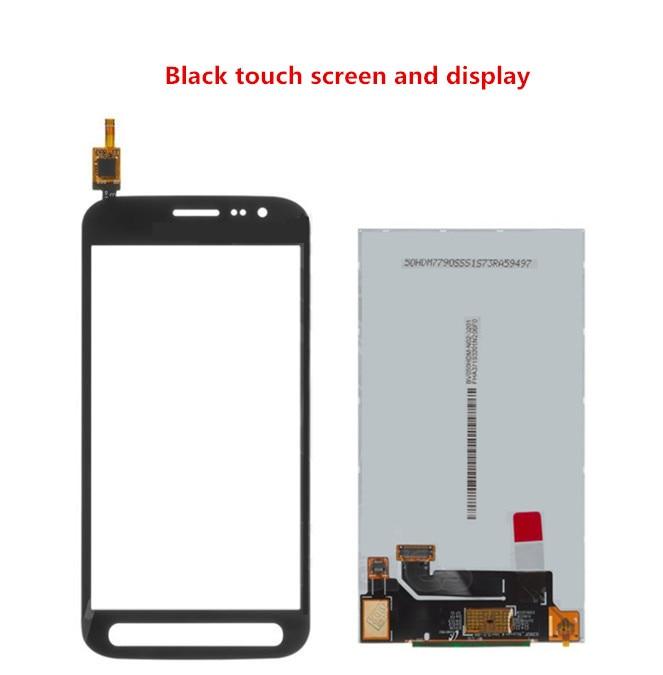 ЖК-дисплей с сенсорным экраном для Samsung G390F Galaxy Xcover 4, дигитайзер экрана, стеклянная панель, Передняя Замена