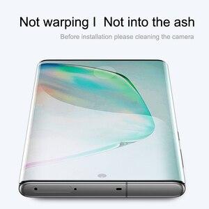 Image 5 - Verre trempé pour Samsung Galaxy note 10 protecteur décran plein bord incurvé verre de protection pour Samsung note 10 Plus + Pro 5G