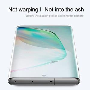 Image 5 - Vidrio templado para Samsung Galaxy note 10, Protector de pantalla con borde curvado completo, vidrio Protector para Samsung note 10 Plus + Pro 5G