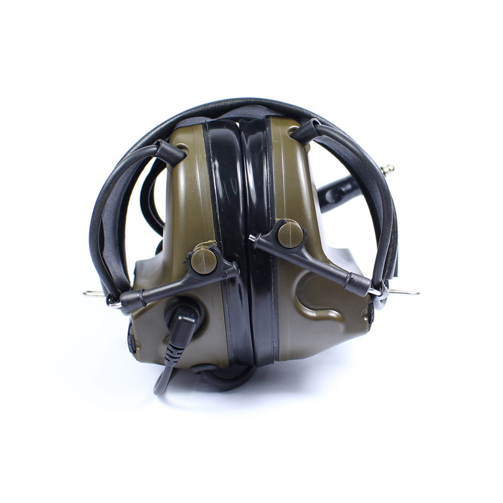 Tactical Headset Comtac III Chip Denoising Adapterization for Outdoor Hunting Military Airsoft Rifles Earphone