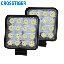 цена на Light Bar Combo Led Lights Bars For Jeep ATV UAZ SUV Offroad Car Truck Tractor Boat Trailer 4x4 SUV ATV 12V 24V LED Work Light