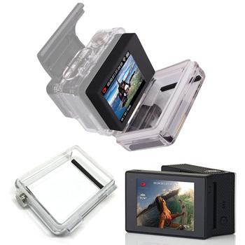 Dla GoPro BacPac monitor Lcd go pro Hero 3 3 + 4 ekran Lcd Bacpac + tylne drzwi skrzynki pokrywa dla Gopro Hero 3 3 + 4 akcesoria tanie i dobre opinie NEELU 01478