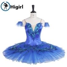 child bluebird ballet tutu  costumes adult competiton stage professional performance BT9236