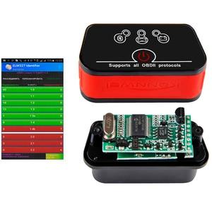 Image 2 - KONNWEI KW903 ELM327 OBD2 Scanner ICAR 2 V1.5 adattatore Bluetooth adattatore interfaccia strumento diagnostico automatico per Android