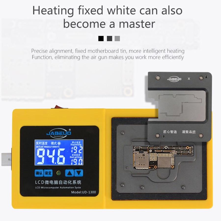 UD-1300 Intelligent Motherboard Separator Plate LCD Display Non Heat Air Gun Laminating Reballing Platform For IPhone X XS XSMAX