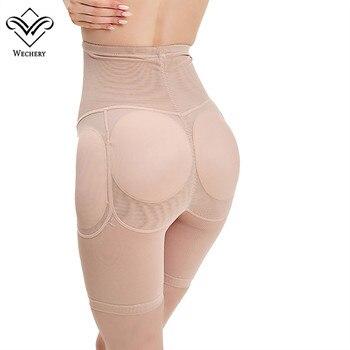 Wechery Control Pants Butt Lifter Hip Up Padded Control Panties Lifting Women Body shaper Butt Enchancer Slimming Shaperwear 5