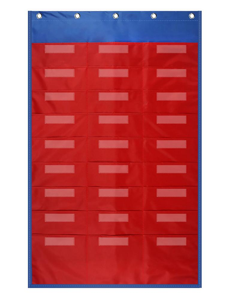 27 Pockets File Organizer Wall Hanging Document Holder Mounted Door Hanging File Organize Great For Classroom School Home