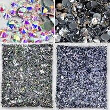 SS3 SS50 14400 adet/büyük çanta toptan yüksek kalite daha iyi DMC düzeltme Rhinestones kristal sıcak düzeltme yapay elmas giysiler için Y3851