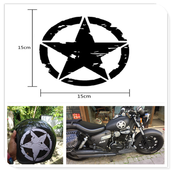 motocross styling ARMY Star Decals Motorcycle Stickers Vinyl for BMW HP2 SPORT K1200R K1200R SPORT K1200S K1300 S/R/GT image