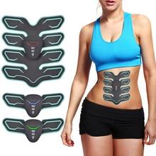 Muscle Stimulator ABS Hip Trainer EMS Abdominal Belt Vibration Fitness Massager Electrostimulator Muscular Training Apparatus