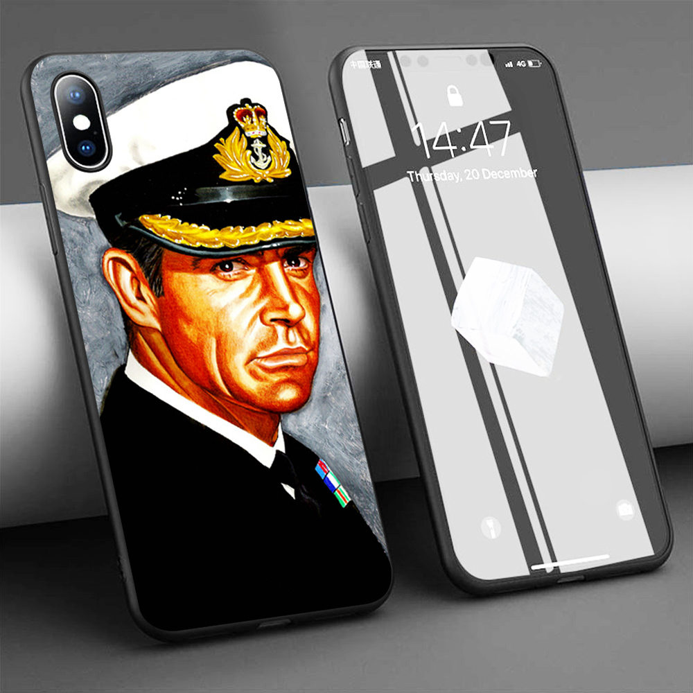 Coque Commander James Bond Sean Connery YOLT Soft Silicone Phone Case for iPhone 11 Pro Max