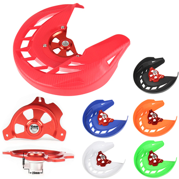 15mm hub X-Brake Front Brake Disc Rotor Guard Cover Protector Protection Fit CR CRF CR125 CR250 CRF250L Motocross Off Road 1