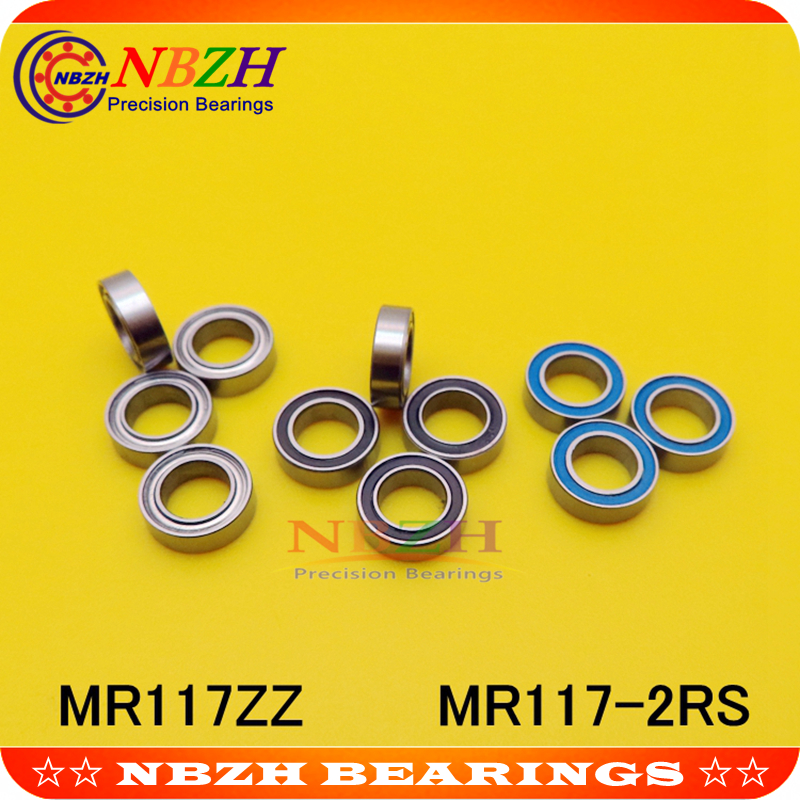 10 шт., тонкие радиальные шарикоподшипники, 7 х11х3 мм, 7 х11х3 мм