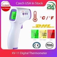 Digital LCD Temperature Indoor Room Meter Thermometer Hygrometer Sensor Humidity Thermometer Gun Infrared Digital Termometro