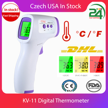 Digitale Lcd Temperatuur Indoor Kamer Meter Thermometer Hygrometer Sensor Vochtigheid Thermometer Gun Infrarood Digitale Termometro
