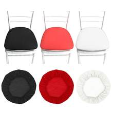 Removable Elastic Stretch Slipcovers Spandex Chair Seat Covers(China)
