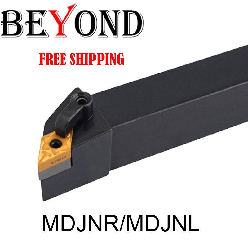 BEYOND MDJNR MDJNR1616H11 Lathe Tool Holder MDJNR2525 External Turning Tool MDJNR2020K11 Carbide Inserts DNMG CNC Mill Cutter