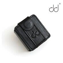 DD Кожаный чехол ddHiFi C M5 для музыкального проигрывателя FiiO M5, кожаный чехол DAP (с эластичным ремешком) Черный, ремешок для часов.
