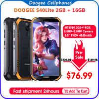 DOOGEE S40 Lite смартфон с 5,5-дюймовым дисплеем, четырёхъядерным процессором, ОЗУ 2 Гб, ПЗУ 16 Гб, 4650 мАч