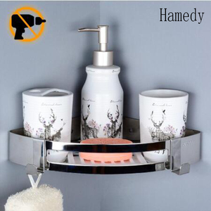Hamedy No Drill Shower Corner