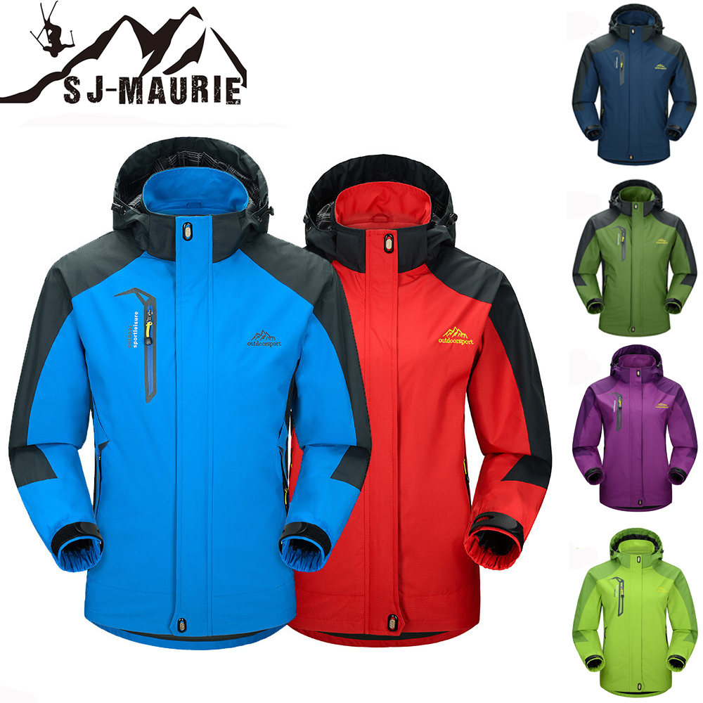 Sj-Maurie Jackets Overcoat Trekking Fleece Women Softshell Fishing Outdoor Winter Super-Warm