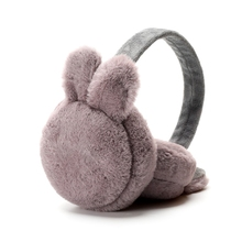 Outdoor Accessories Earmuff Adult Simple Cute Lifelike Rabbit Ear Shape Windproof Foldable Plush Warmers Protector