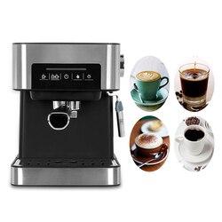ITOP Semi-automatic Household 20Bar Espresso Coffee Maker Machine Stainless Steel Coffee Machine Italian Coffee Maker 850W