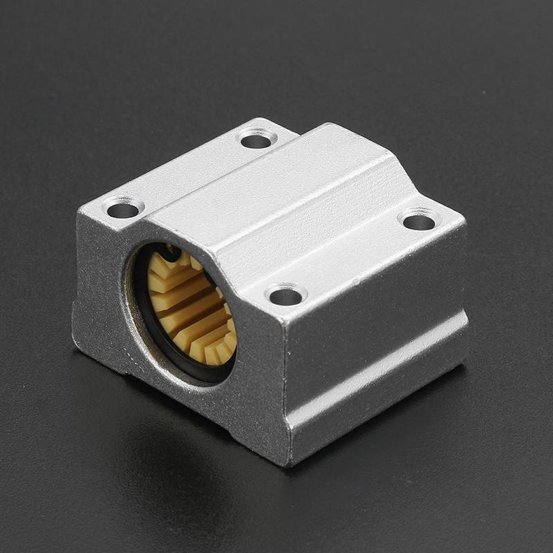SC12UU 12 мм сплошной полимерный линейный подшипник скольжения втулка для ЧПУ 3d принтер линейные направляющие твердый полимерный алюминий