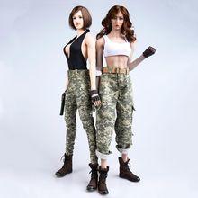 Weibliche/Männliche Figur Kleidung Zubehör Camouflage Kleidung Im Freien Uniform Set TYM039 1/6 Modell für 12'' Action Figur Körper