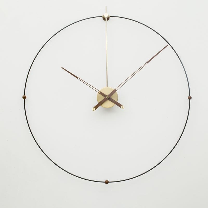 Oversized Large Metal Wall Clock Modern Design European Simple Iron Art 3D Decorative Hanging Clocks Wall Watch Home Decor 80cm