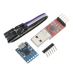 Image 2 - Módulo USB A TTL serial UART, cable de descarga STC, actualización de línea de pincel, tipo A, Micro USB, 5 pines y 6 pines, 50 Uds., CP2102
