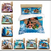 Disney Moana Bedding Set Duvet Cover PillowCase Single Twin King Size Bedroom Decoration Cartoon Boy Girls Children Bed Gifts|Bedding Sets| |  -
