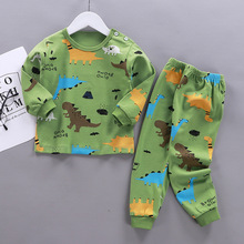 2021 Kids Clothing Sets Boys Sleepwear Clothes Children's Cartoon Pajamas Sets Baby Girls Cotton Pijamas Spring Autumn Pyjamas