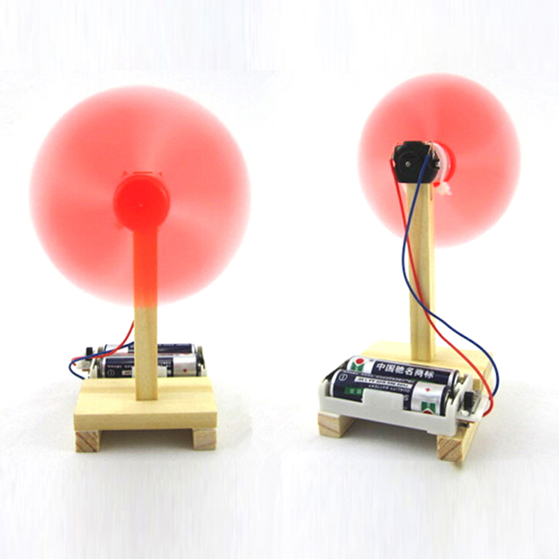 DIY Electric Fan Model Kit Kids Science Experiment Toys School Project Kindergarten Creative Assembled STEM Education