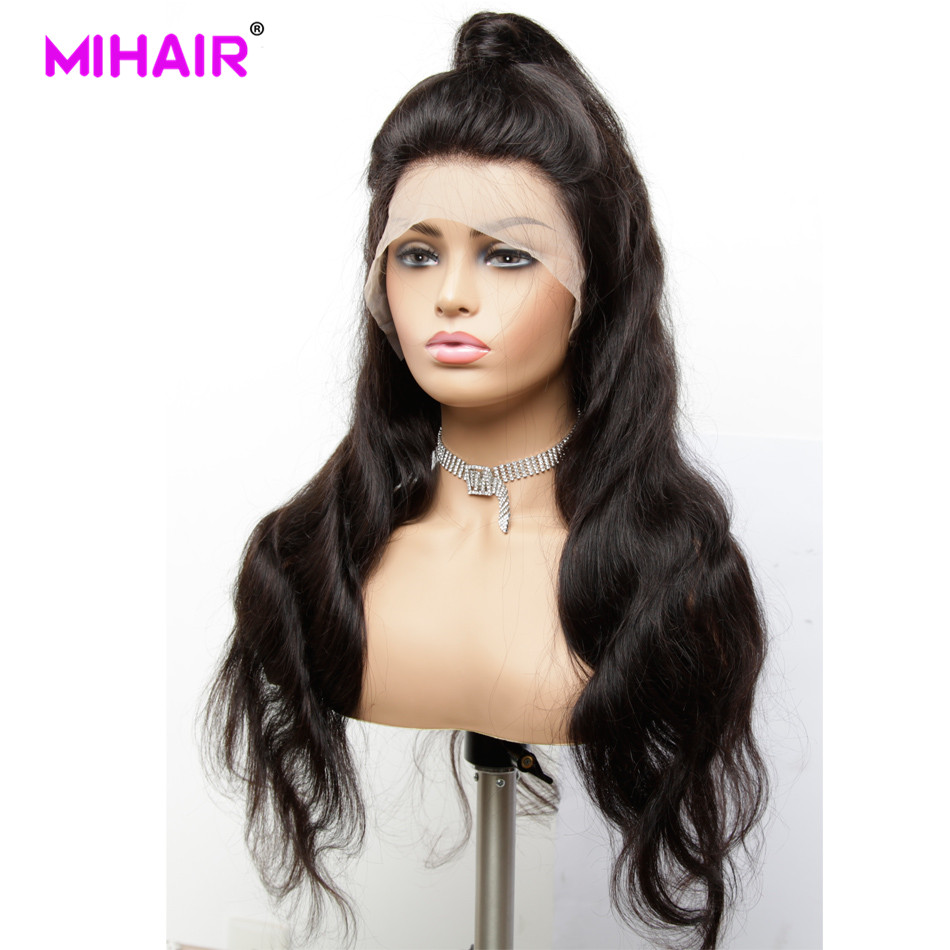 13*4 Lace Front Human Hair Wigs For Women Malaysian Remy Body Wave Hair Lace  Wigs With Baby Hair 150%Pre Plucked Bleached Knots
