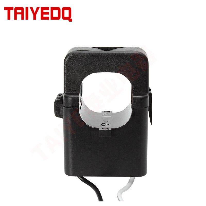 Трансформатор тока с раздельным сердечником, зажим, CT датчик, датчик тока с датчиком тока 100A 200A 300A 400A CT