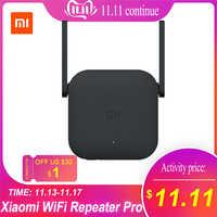 Xiao mi mi wzmacniacz sygnału WiFi Pro/Repeater 2 Extender 300 mb/s sieć bezprzewodowa Repetidor WiFi wzmocnienie sygnału router sieciowy WiFi