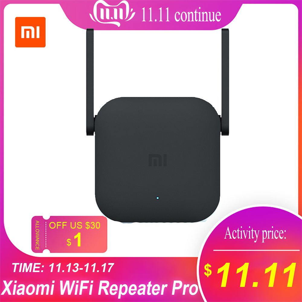 Xiao mi wi fi repetidor pro/repetidor 2 extensor 300 mbps de rede sem fio repetidor wifi realce do sinal roteador rede wi-fi