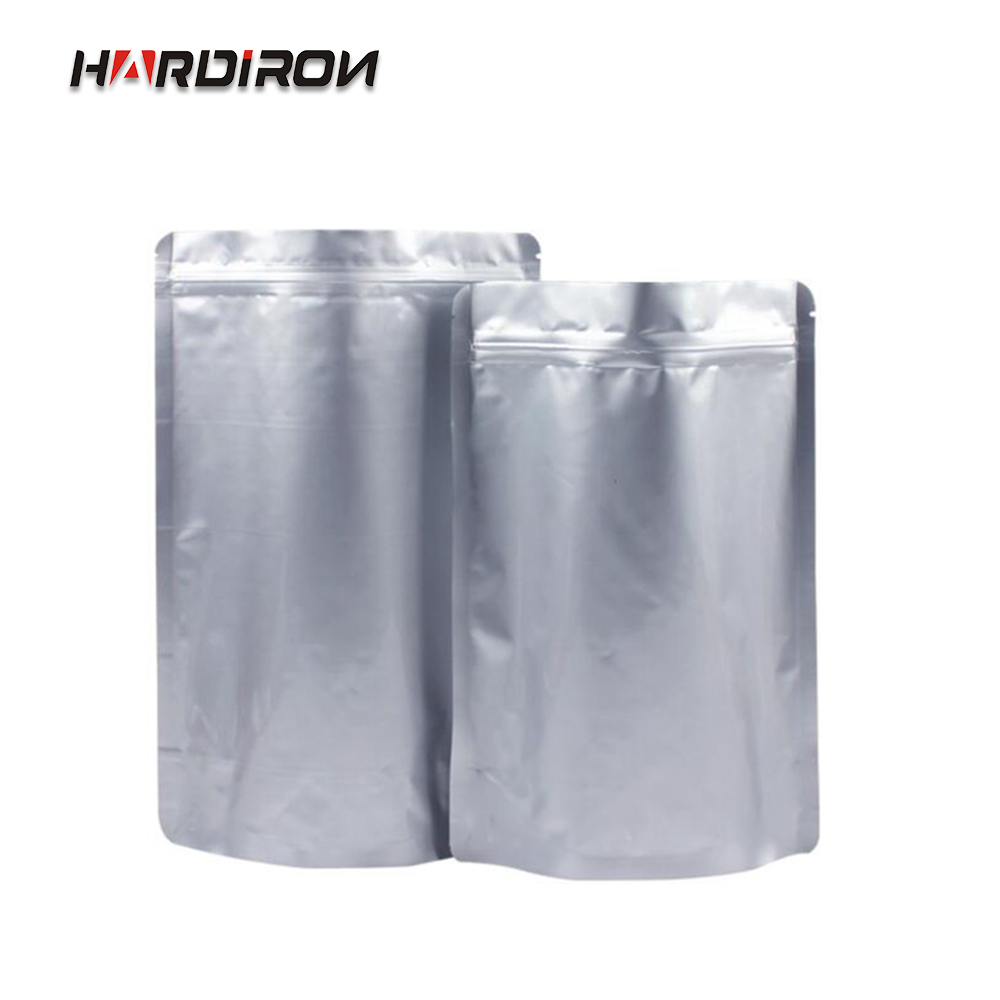 HARDIRON Aluminum Foil Bag Zip lock Bag Food Packaging Bags Contains aluminum layer more secure intimate package pouches