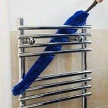 Limpador telescópico lavável removível do coletor de pó da remoção da escova da limpeza de microfibra do coletor # y1