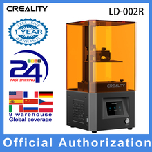 Creality 3D LD 002R Uv Hars 3D Printer Lcd Photocuring Bal Lineaire Rails Lucht Filtratie Systeem Off Line Print 4.69*2.56 * 6.3in